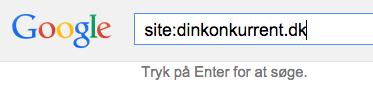 Site søgning