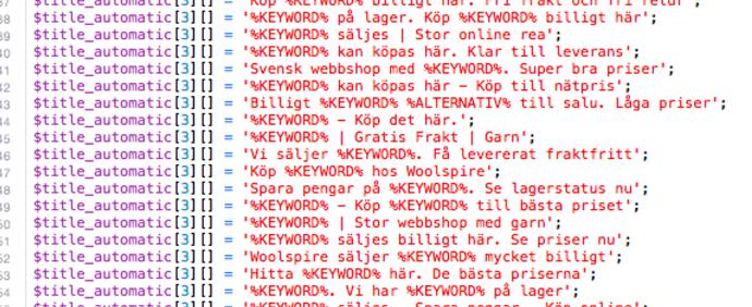 Lidt PHP
